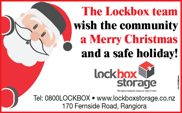 The Team At LockBox Storage Wish You A Very Merry Christmas & A Happy New Year